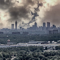 Atlanta Skyline Panoramic by Tom Gari Gallery-Three-Photography