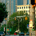 Atlanta Street Scape by Donna Thomas