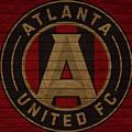 Atlanta United Barn Door by Dan Sproul