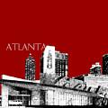 Atlanta World Of Coke Museum - Dark Red by DB Artist