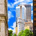 Atlanta's Flatiron On Peachtree Street by Mark Tisdale