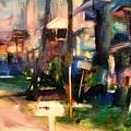 Atlantic Ave Along The Ocean by Bob Dornberg