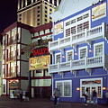 Atlantic City Boardwalk At Night by Sally Weigand