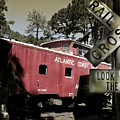 Atlantic Coast  Line Railroad Carriage by Mal Bray