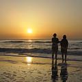 Atlantic Ocean Sunrise by Darrell Young