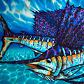 Atlantic Sailfish by Daniel Jean-Baptiste