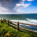 Atlantic Storm Over Ireland's County Clare Coast by James Truett