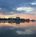 Atlantic Sunset by Pattie Frost