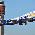 Atlas Air Boeing 747-446 N465mc Phoenix Sky Harbor January 12 2015 by Brian Lockett