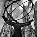 Atlas Holding The Heavens by Jessica Jenney