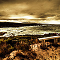Atmospheric Beach Artwork by Jorgo Photography - Wall Art Gallery