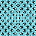 Atomic Shape 1 In Turquoise by Donna Mibus