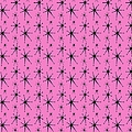 Atomic Starburst In Pink by Donna Mibus