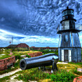 Atop Fort Jefferson by Don Mercer