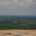 Atop Of Stone Mountain by Karol Livote