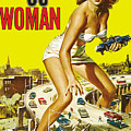 Attack Of The 50 Ft. Woman Poster by Joy McKenzie