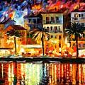 Attractive Corsica by Leonid Afremov