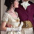 Attractive Regency Couple by Lee Avison