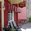 Au Petit Hotel Quebec City  6525 by Jack Schultz