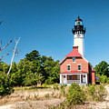 Au Sable Point Lighthouse by Phyllis Taylor