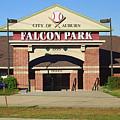 Auburn, Ny - Falcon Park by Frank Romeo