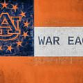 Auburn University Georgia Flag by JC Findley