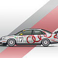 Audi A4 Quattro B5 Btcc Super Touring by Monkey Crisis On Mars