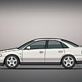 Audi A4 Quattro B5 Type 8d Sedan White by Monkey Crisis On Mars