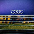 Audi Grille Emblem -2333c by Jill Reger