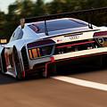 Audi R8 Lms - 05 by Andrea Mazzocchetti