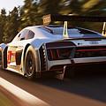Audi R8 Lms - 14 by Andrea Mazzocchetti