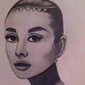 Audrey Hepburn by Joyce Lawhorn