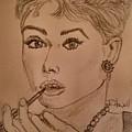 Audrey Hepburn by Richard Howell