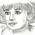 Audrey Hepburn Smile by Steven White
