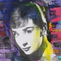 Audrey Hepburn by Walford Williams