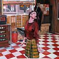 Audrey Horne Twin Peaks Resident by Kevyn