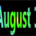 August 1 by Day Williams