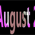 August 2 by Day Williams