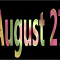 August 27 by Day Williams