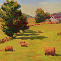 August Hay Field by Keith Burgess