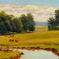 August Pastoral by Keith Burgess
