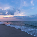 August Sky Lavallette New Jersey Square by Terry DeLuco