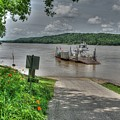 Historic Augusta Ferry. by Paul Lindner