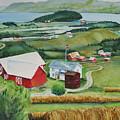 Aune Farm In Selbu Norway by Karen Stark