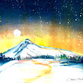 Mount Hood's Starry Crown by Laurie Martin-Cohn