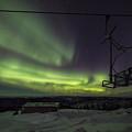 Aurora, Night Sky At Alaska, Fairbanks by Chon Kit Leong