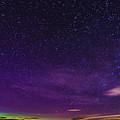 Aurora Panorama by Sandra Cockayne