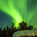 Aurora Tornado Above Karasjok Norway by Adam Rainoff