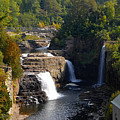 Ausable Falls by David Lee Thompson