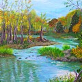 Ausable River by Peggy King